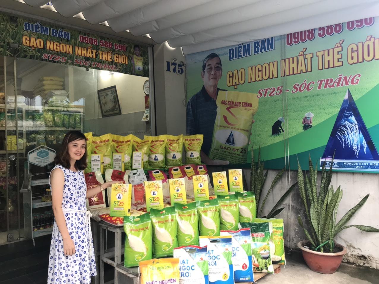 Cửa hàng gạo sạch đóng túi An Bình Phát